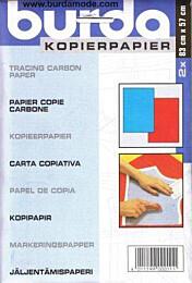 Burda - kopieerpapier blauw/rood