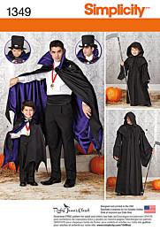 Simplicity - 1349 Halloweenkostuum