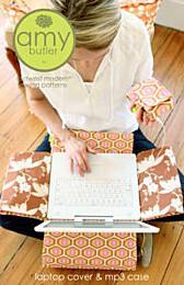 Amy Butler - Laptop cover en MP3 case