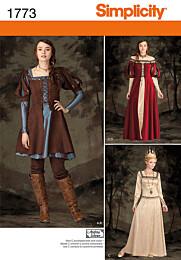 Simplicity 1773 gothic jurk
