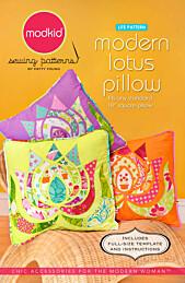 Modkid - Modern lotus pillow