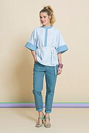 Knipmode 0521 - 08 - Bluse