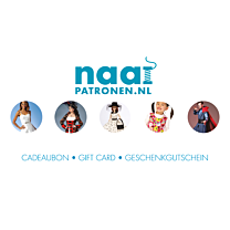 Naaipatronen.nl Cadeaubon € 15,00