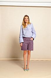 Knipmode 0521 - 06 - Bluse