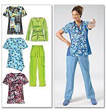 McCalls 6473 Werkkleding voor (para)medisch en verzorgend personeel