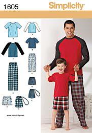 Simplicity 1605 pyjama