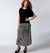 Vogue - 1333 Blouse en rok Sandra Betzina