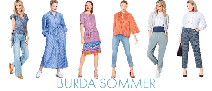 Burda Frühling und Sommer 2021 Kollektion Schnittmuster