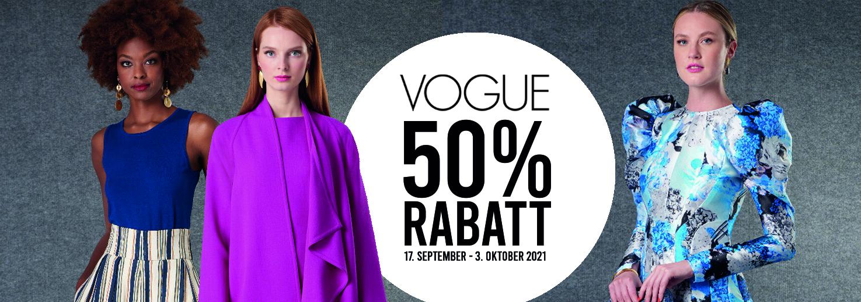 Vogue Schnittmuster Sale 50% Rabatt