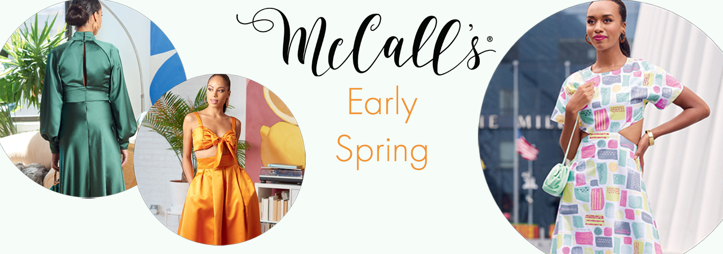 McCall's Early Spring 2021 neue Schnittmuster