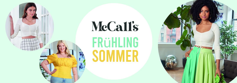Neue McCall's Schnittmuster