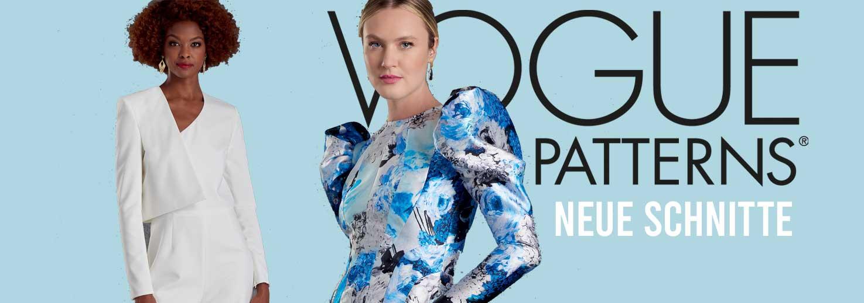 Neue Vogue Schnittmuster